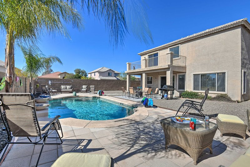 This San Tan Valley vacation rental ensures a getaway to remember!
