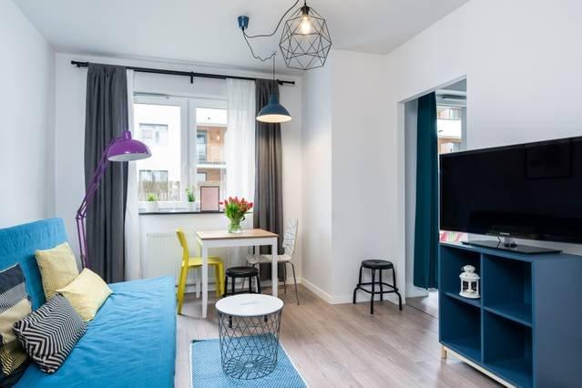 Apartament z ogródkiem obok Olivia Business Center, holiday rental in Sopot