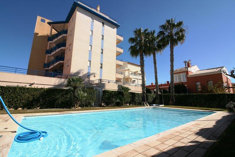 Apartamento con piscina y vistas al mar Aguamarina 36