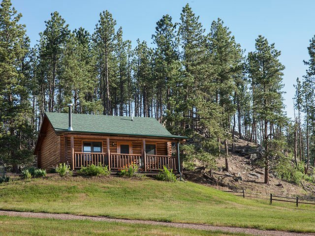 Harney View Cabin - Newton Fork Ranch, alquiler vacacional en Hill City