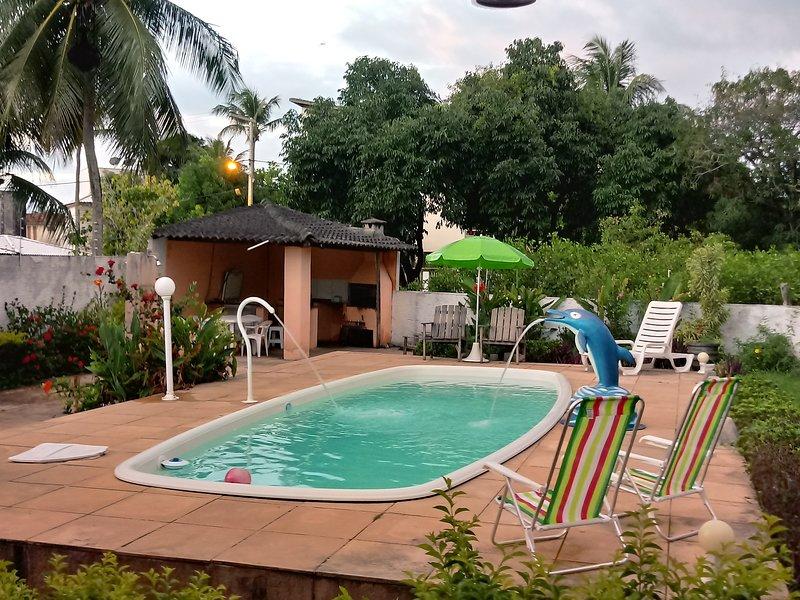 Casa na Ilha de Itaparica - Ponta de Areia, vacation rental in Itaparica