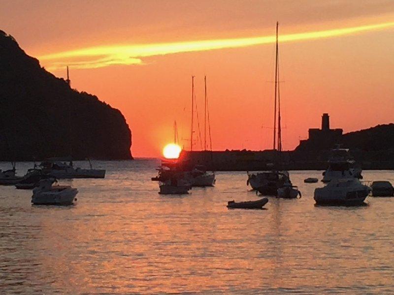 Coucher de soleil Port Soller