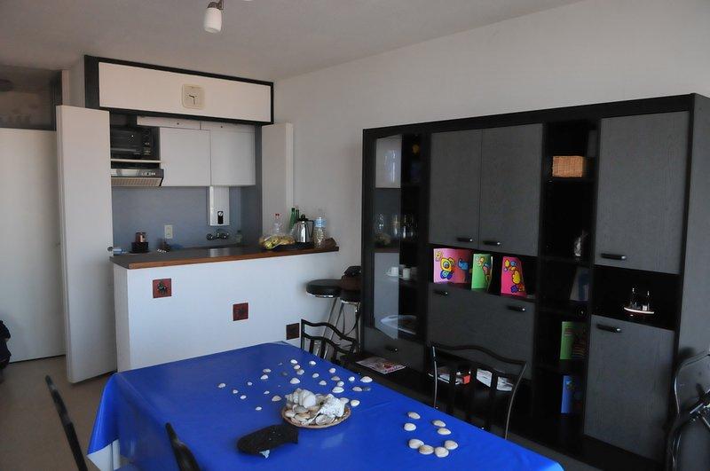 Amazing apartment with sea view, alquiler de vacaciones en Lombardsijde
