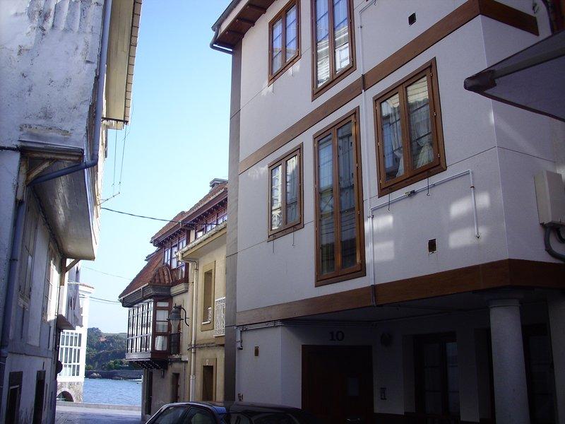El apartamento de Gore, casco historico Luanco, holiday rental in Luanco