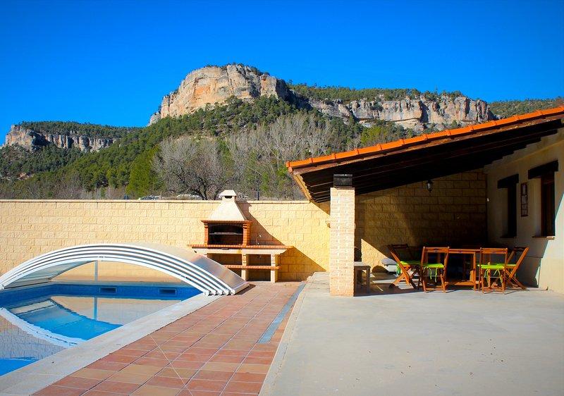 Casa rural Laguna de Uña, casa vacanza a Albalate de las Nogueras