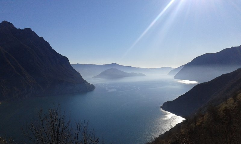 Lake Iseo and Monteisola