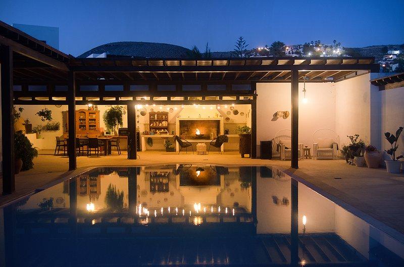 Nice house with swimming-pool, aluguéis de temporada em Teseguite