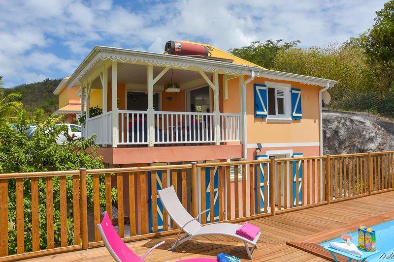 VILLA Nord-Plage, avec Piscine, holiday rental in Les Anses d'Arlet