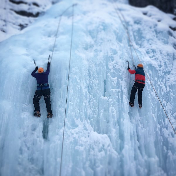 Our adventure Ice Climbing