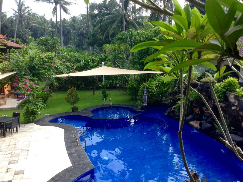 Villa Tenganan, Kura Kura Villas, Candidasa, Bali., location de vacances à Candidasa