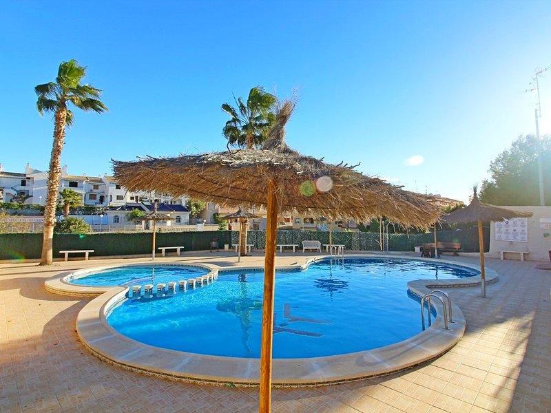 La Zenia Beach Central Holiday Apartment Rental- FREE,  WIFI  TV, A/C, holiday rental in La Zenia