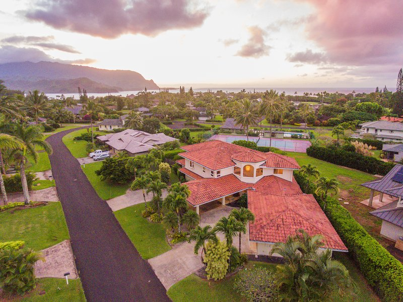 Located in the heart of Princeville, only minutes from Hanalei Bay.