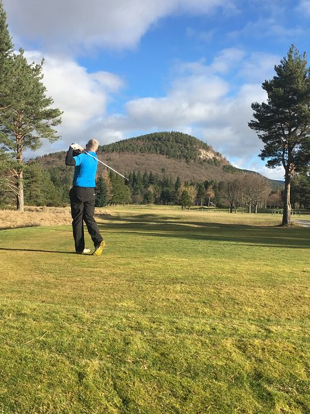 11th Hole to Craigendarroch Hill