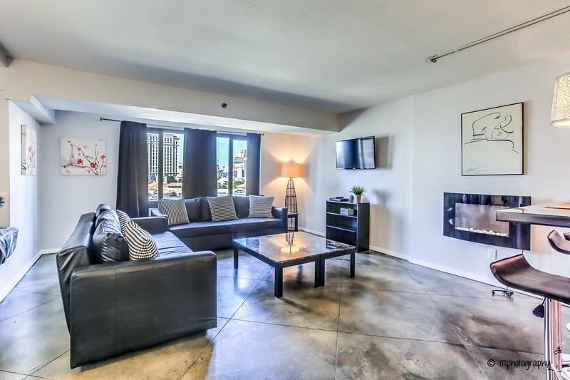Sala de estar - Área de estar - Televisión