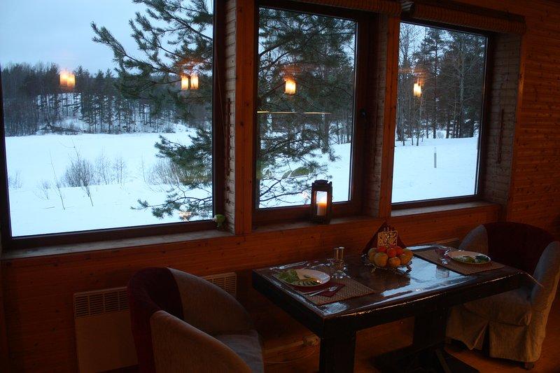 Загородный дом Papinlakhti, location de vacances à Republic of Karelia