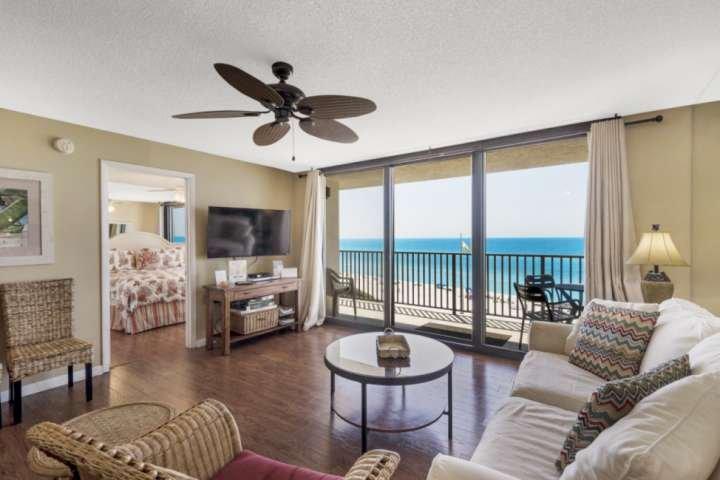 Beautiful beach front condo with amazing gulf views!