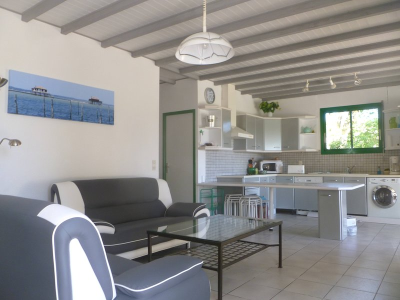 Spacious villa with swimming-pool, vacation rental in Montazeau