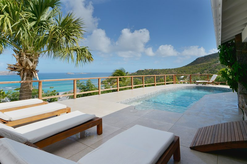Villa Sunrise a taste of the exclusive in St Barth, vacation rental in St. Jean