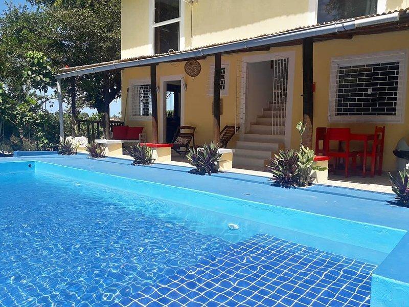 Casa Jardim Morro de  São Paulo, location de vacances à Guaibim