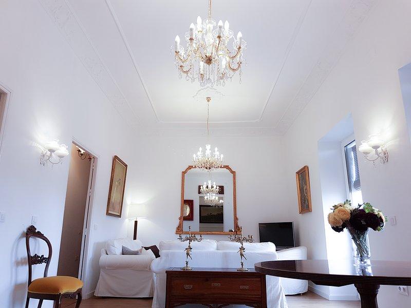 Casa Palacio Morla-Melgarejo (apto. 100m2), holiday rental in Lebrija