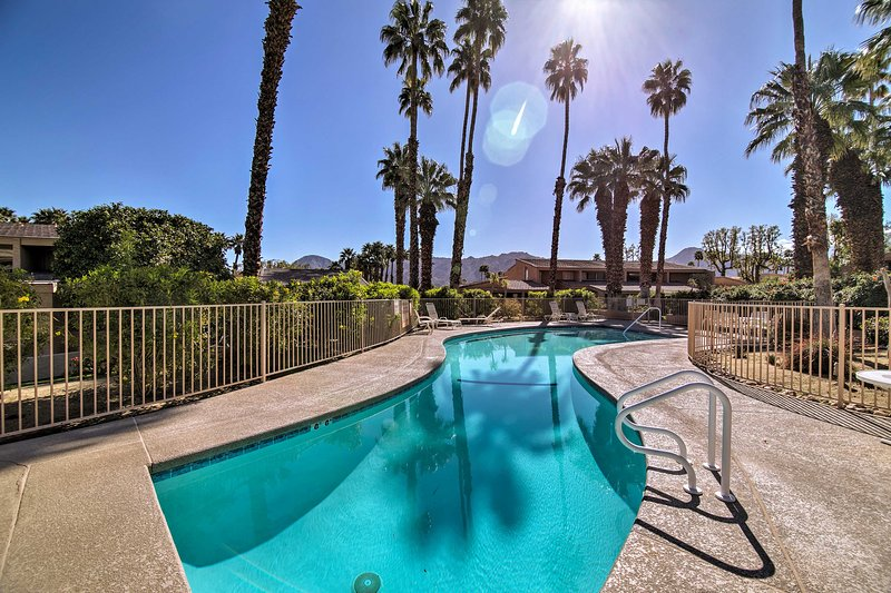 Escape the Palm Desert for optimal holiday relaxation!