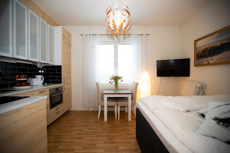 Klintvägen Apartments - Studio with Garden View (Unit 2) – semesterbostad i Åland