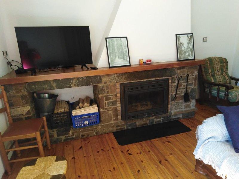 Pis gran acollidor, amb llar de foc a Camprodon, location de vacances à Beget