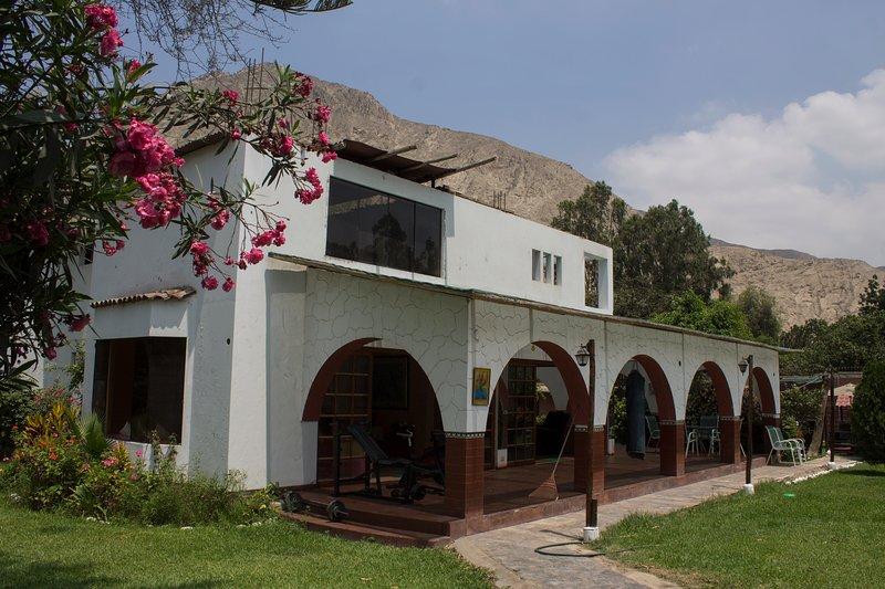 Alquiler Casa De Campo En Cieneguilla Para 16 Personas!!!, location de vacances à Chaclacayo