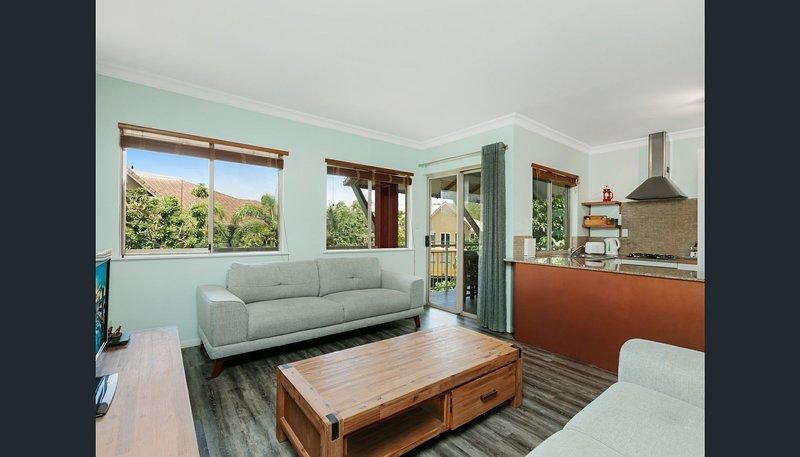 Open plan, modern living areas