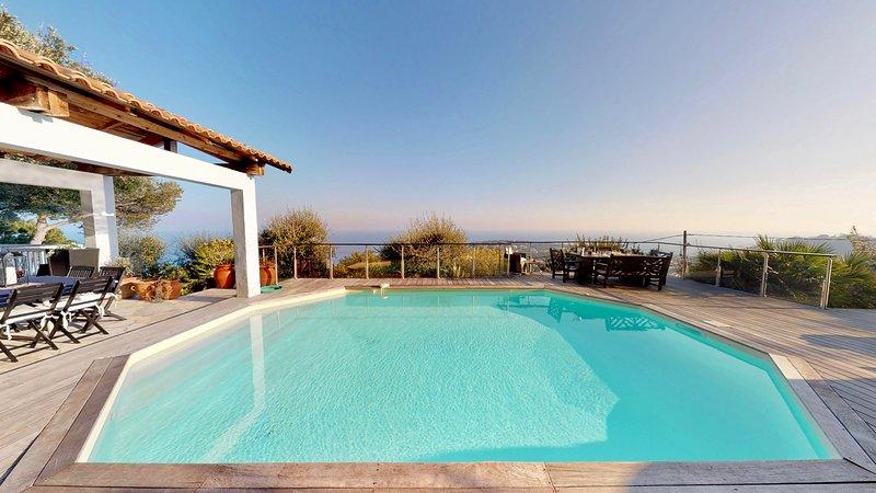 VILLA VUE MER PROCHE MONACO, vacation rental in Monaco-Ville