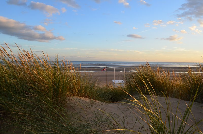Camber Sands Beach 5.5 miles from the cottage
