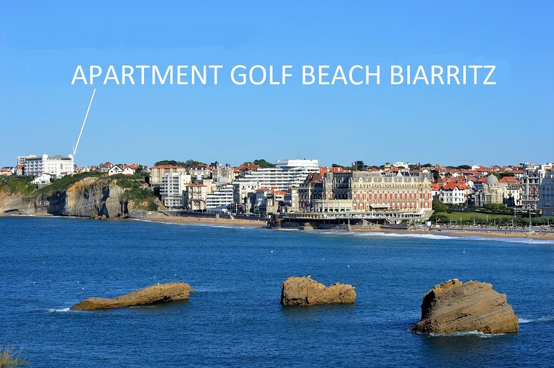 Location Apartment pour G7 Biarritz .Zone rouge. Badges d'accès., holiday rental in Biarritz