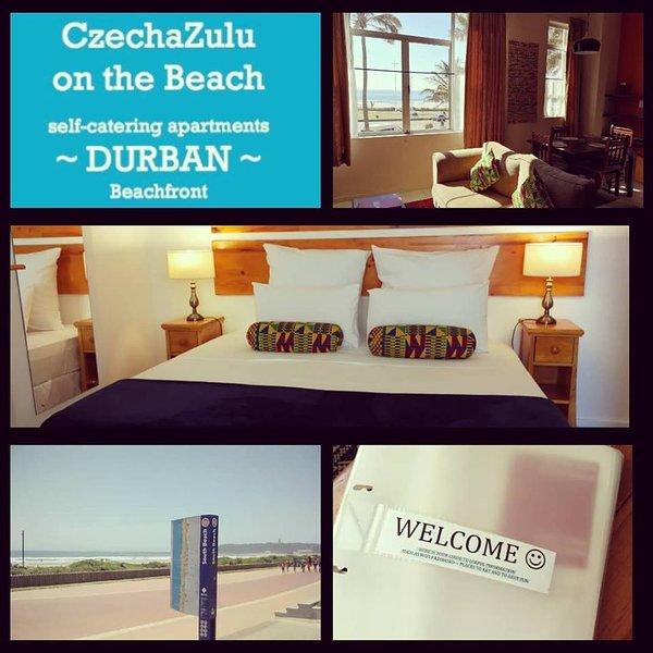Prenez une serviette et sortez sur la plage de Durban.