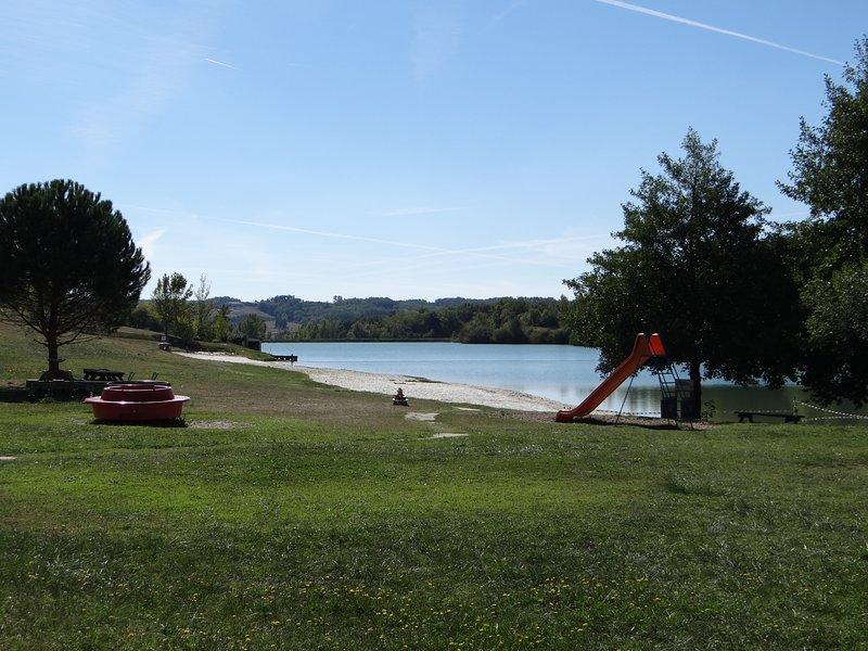 Swimming lake at Molières (8km's)