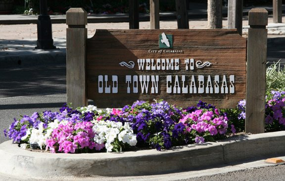 We are just 5 minutes from the limit of old town Calabasas