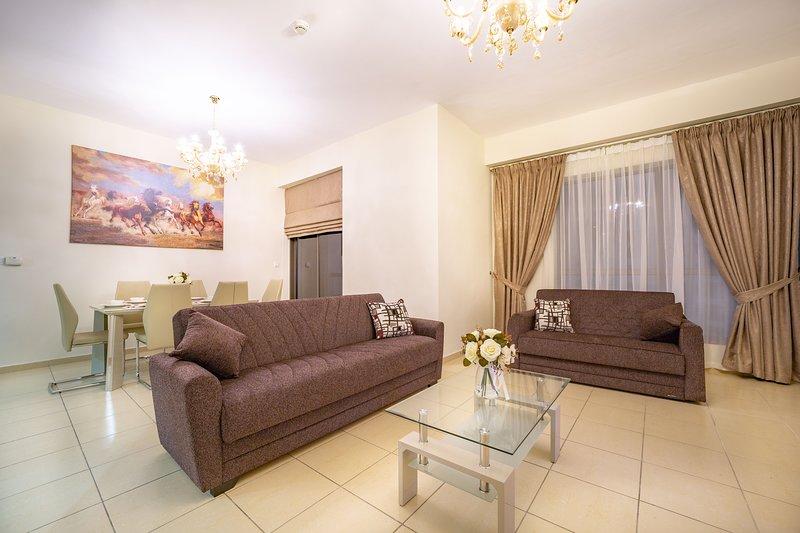 Spettacolare appartamento 1BR con vista completa sul porto turistico nel Jumeirah Beach Residence
