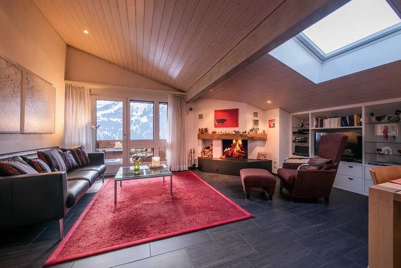Chalet Primula Penthouse, holiday rental in Wengen