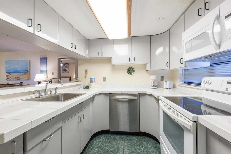 The kitchen is equipped with everything you ned to prepare delicious meals.