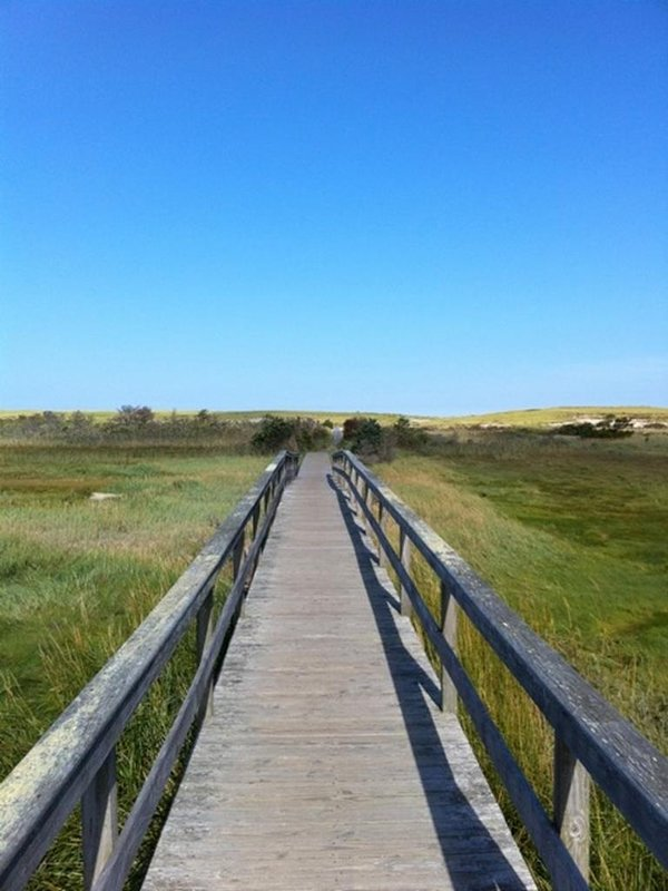 Pochet Association footbridge to Nauset Beach
