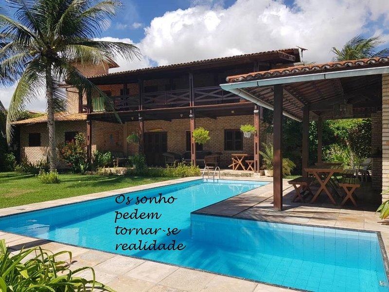 In luoghi magici i sogni possono diventare realtá, vacation rental in Flecheiras