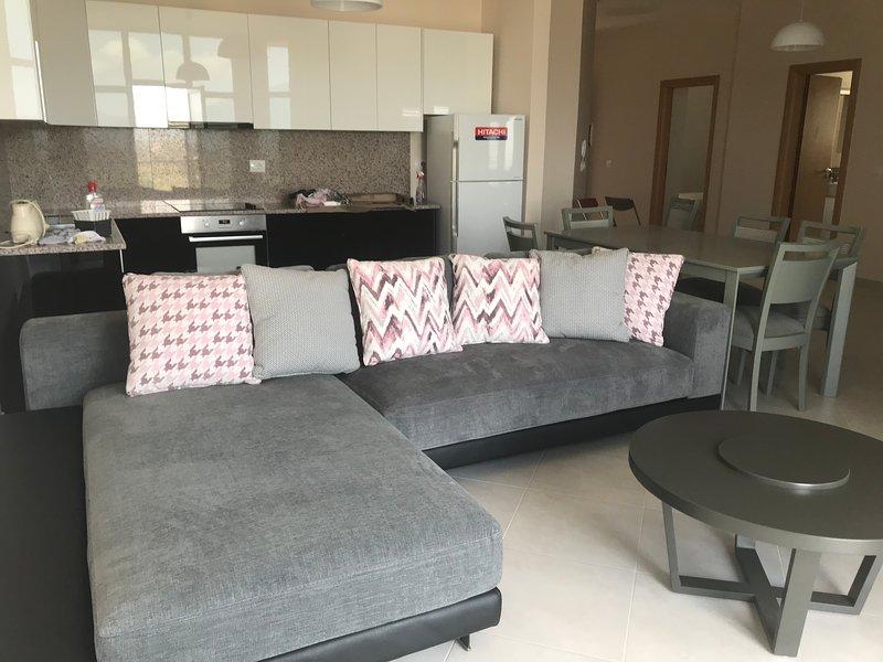 Appartement cosy avec magnifique panorama, location de vacances à Orikum