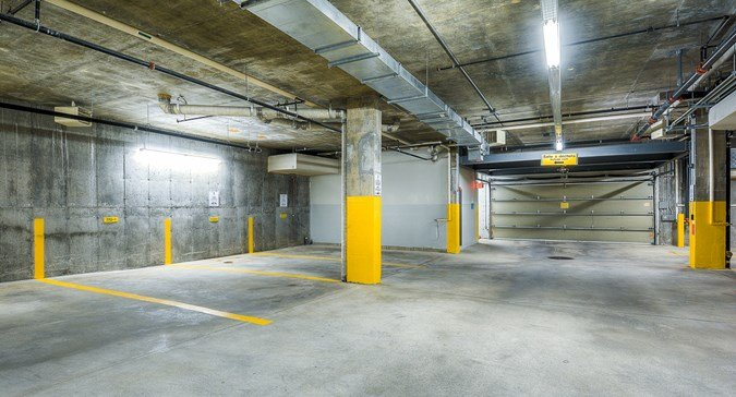 Indoor Parking Included for 1 Car