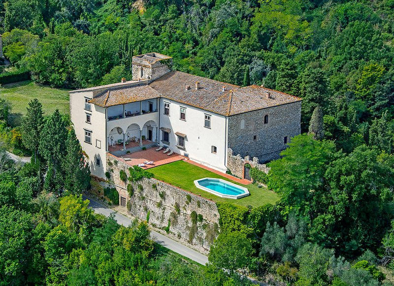 Castello Lorenzo, Heart of Tuscany,Renaissance Villa with Pool, vacation rental in San Casciano in Val di Pesa
