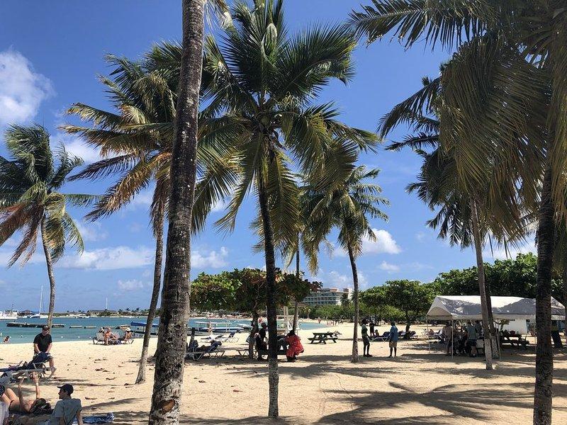 Playa en el castillo de arena (Ocho Rios Bay Beach)