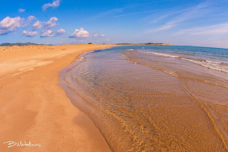 Halikounas beach only 15 min by the car