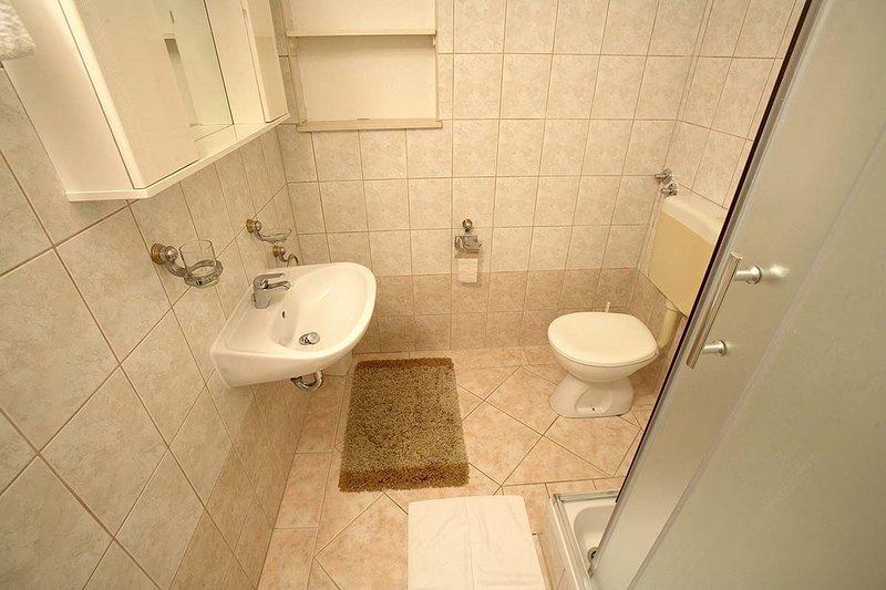 A5 prvi kat (2 + 2): banheiro com vaso sanitário