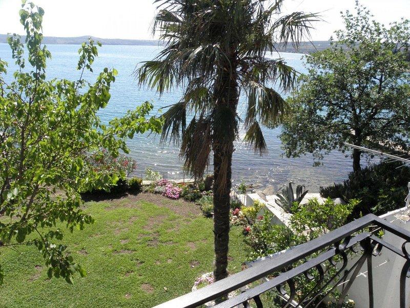 Vlatkica - 10 m from beach: A1 Vlatkica(4) - Maslenica, holiday rental in Maslenica