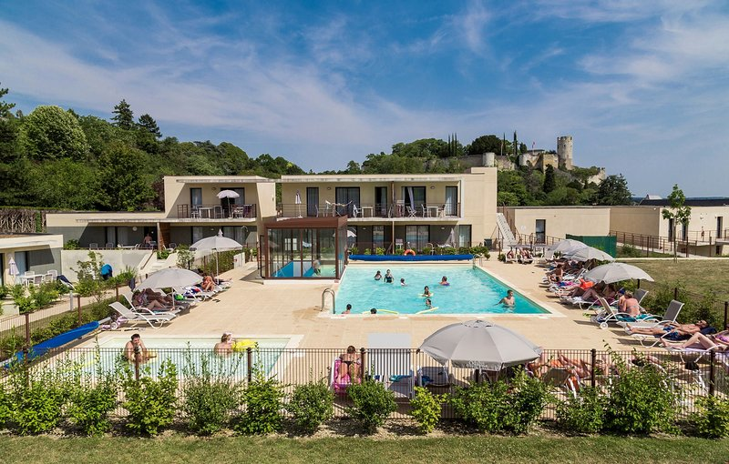 Enjoy the sun from the outdoor patio and take a dip in the outdoor pool.