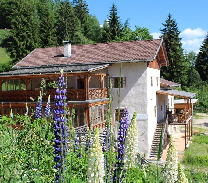 Ferienwohnung Platzerer Jöchl im Hof Neuhaus, holiday rental in Meltina