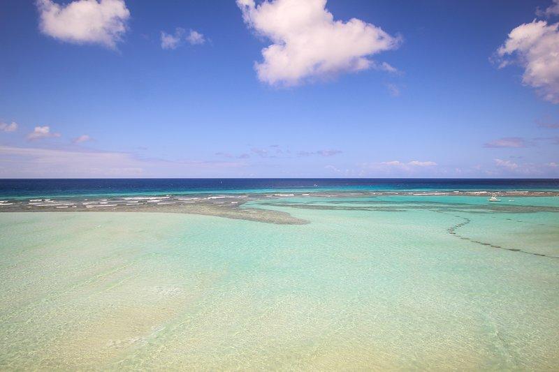 The beautiful Caribbean sea at your doorstep!